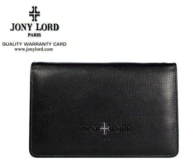【橘子包包館】JONY LORD 傑尼羅特 真皮 男用 手拿包 JL-011 黑色