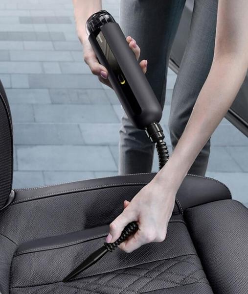 小型車載吸塵器無線充電