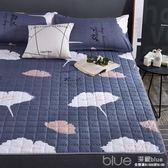 床墊1.8m床褥子榻榻米保護墊子1.5米雙人墊被單人折疊防滑學生1.2YYJ 深藏blue