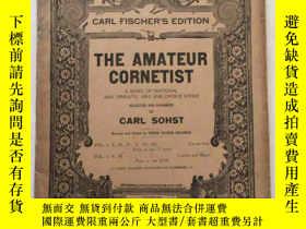 二手書博民逛書店the罕見amateur cornetist 業餘吹奏者 卡爾費