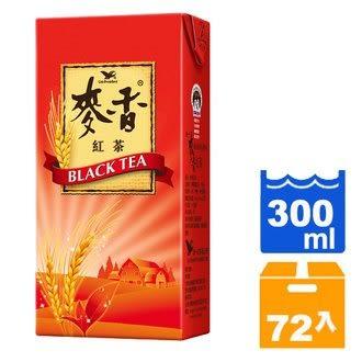 統一 麥香紅茶 300ml (24入)x3/箱