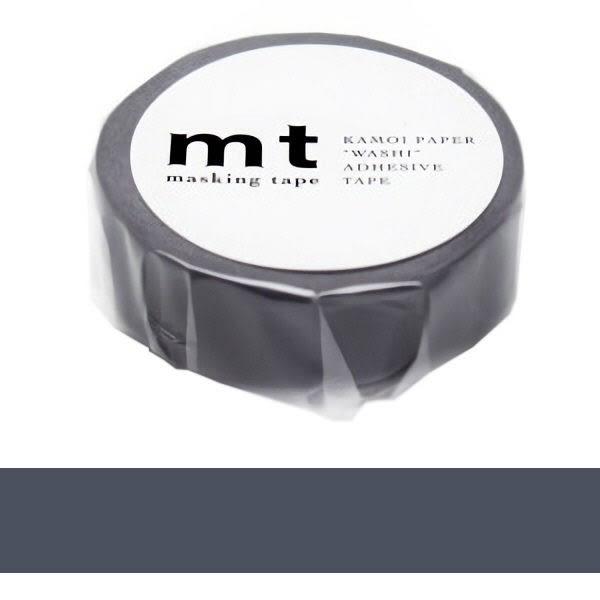 日本mt Masking Tape 和紙膠帶 灰紫色 15mmX10M
