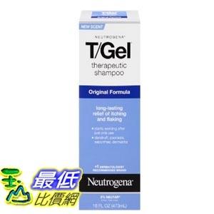 [美國直購] Neutrogena T/Gel 16 Fl. Oz 473ML 洗髮精 Therapeutic Shampoo Original Formula TB4