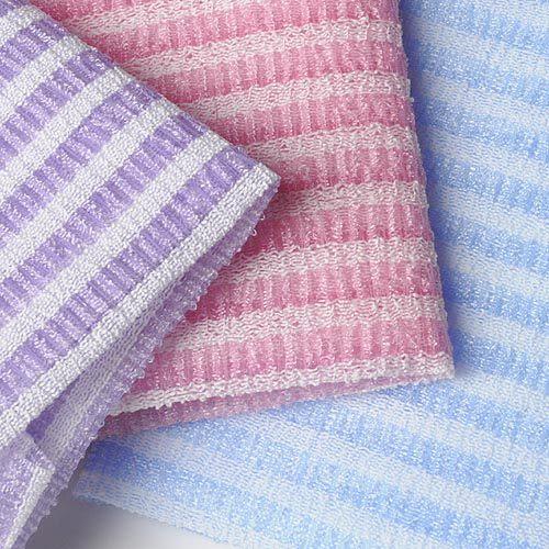【九元生活百貨】5002雙色沐浴巾 沐浴巾