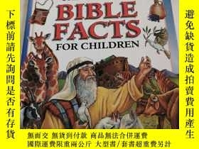 二手書博民逛書店FASCINATING罕見BIBLE FACTS FOR CHI