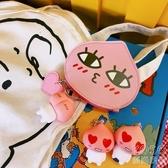 錢包 韓版創意少女PU卡包硬幣包便攜錢包小清新卡通可愛硬幣包小零錢包  『優尚良品』