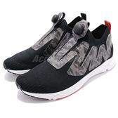 Reebok Supreme ULTK 黑 灰 迷彩 針織鞋面 襪套式 充氣 休閒鞋 男鞋 【ACS】 CN4064