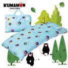 熊本熊 派對 藍 兒童睡袋 標準 台灣製...