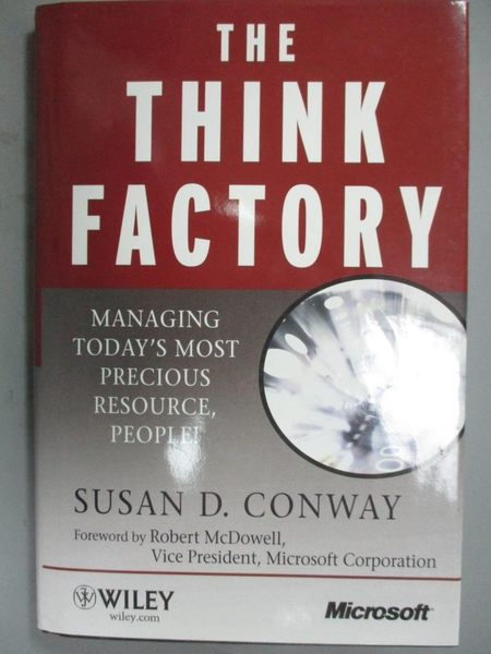 【書寶二手書T5/財經企管_YDS】The Think Factory: Managing Today's Most P
