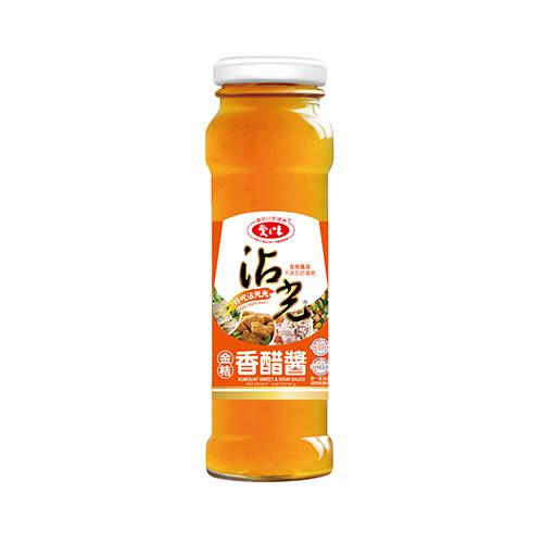 愛之味沾光金桔香醋醬165g*3罐【愛買】