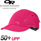 【Outdoor Research 美國 WOMEN S SWITCHBACK CAP 可折疊鴨舌帽〈桃紅〉】243456/鴨舌帽/棒球帽★滿額送