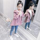 2018新款5兒童裝7女童秋裝外套8春秋6風衣洋氣9韓版3上衣10潮12歲