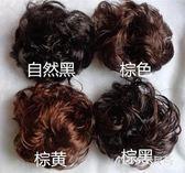丸子頭 丸子頭髪飾大花卷新娘盤髪造型蓬鬆卷髪Mc1936『M&G大尺碼』