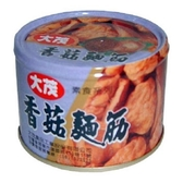 大茂香菇麵筋170g x3(鐵)【愛買】