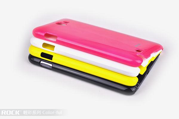 ☆愛思摩比☆~週年慶 Samsung Galaxy Note I9220 專用ROCK洛克~輕彩系列保護殼(特價商品恕不退換貨)