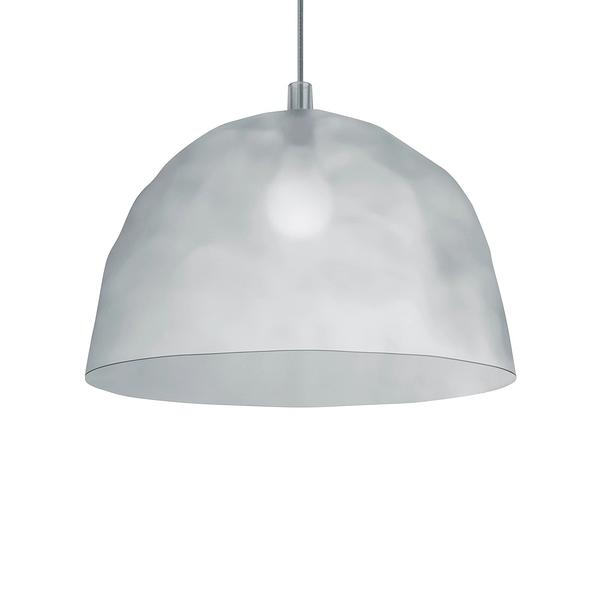 Foscarini Bump Suspension Lamp 50cm 冰鑽造型 色彩 吊燈(半透明冰漾白 Frost - 加長吊線長 400cm)
