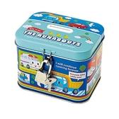 Sanrio 汽車宇宙鐵製存錢筒附鎖(快樂彩虹)★funbox★_128741