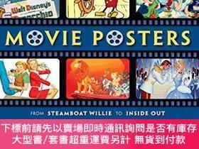全新書博民逛書店DisneyMovie Posters: From Oswald the Lucky Rabbit to Big
