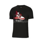Nike 短袖T恤 Jordan Brand Graphic Tee 黑 紅 男款 短T 一代 喬丹 【ACS】 CN3597-010
