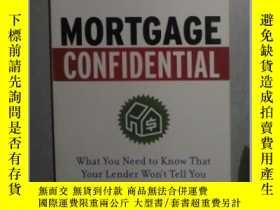 二手書博民逛書店英文原版罕見Mortgage Confidential by D