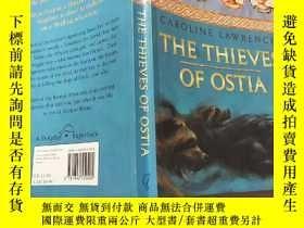 二手書博民逛書店The罕見Thieves of Ostia: The Roman Mysteries 1:奧斯提亞之賊:羅馬之謎1