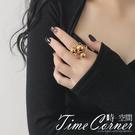 『時空間』高調奪目金屬珠亮面造型戒指