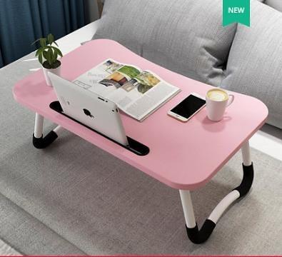 床上桌電腦桌多功能懶人摺疊桌臥室宿舍學生學習書桌床邊桌小桌子 小明同學