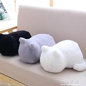 想養一只貓抱枕可愛趴趴背影貓咪靠墊辦公室午睡枕頭女友生日禮物CY『小淇嚴選』