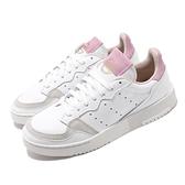 【五折特賣】adidas 休閒鞋 Supercourt W 白 粉紅 女鞋 復古 麂皮設計 運動鞋 【ACS】 EF9219