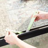 ✭慢思行✭【N320】日式魚形縫隙刷 掃窗槽 清潔刷 畚箕 凹槽 廚房 門窗 槽溝 大掃除 打掃