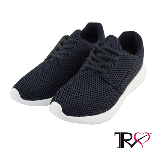 【TRS】韓國TRS空氣增高鞋內增高7公分休閒女鞋-深藍(7100-0035)