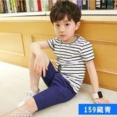 男童夏裝t恤新款兒童短袖上衣純棉半袖體恤韓版童裝潮 『夢娜麗莎精品館』