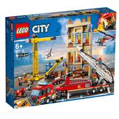 LEGO樂高 城市系列 60216 市區消防隊 積木 玩具