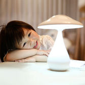 ◄ 生活家精品 ►【P50】蘑菇空氣淨化檯燈 充電式 臥室 床頭 負離子 閱讀 禮物 照明 充電 LED