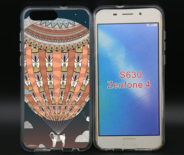 ✿ 3C膜露露 ✿ZenFone4(ZE554KL){熱氣球*空壓立體浮雕軟殼} 手機殼 手機套 保護殼