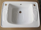【麗室衛浴】陶瓷養身泡腳盆 洗腳盆 ML-414