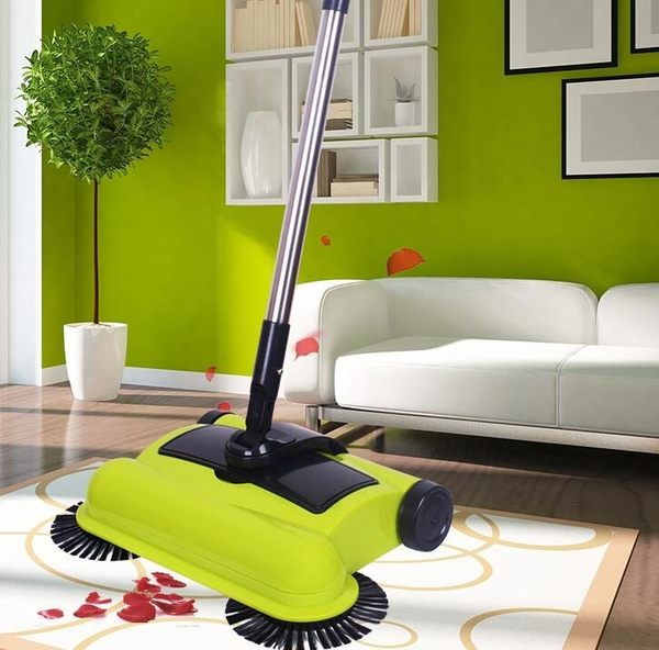 手推式掃地機機器人家用全自動吸塵簸箕掃帚魔法魔術掃把地板神器igo 享購 220v