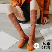 2雙雙 長襪女中筒襪小腿襪及膝襪潮冬季堆堆襪【君來佳選】