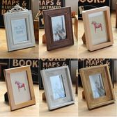 創意復古木制相框擺台橫豎6寸7寸兒童畫框寶寶成長照片擺台裝飾品-Ifashion