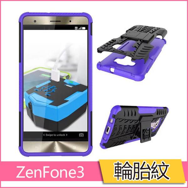 車輪紋 ASUS ZenFone 3 Deluxe ZS570KL 手機殼 輪胎紋 炫紋 華碩3 5.7吋 保護套 全包 防摔 支架 清水套