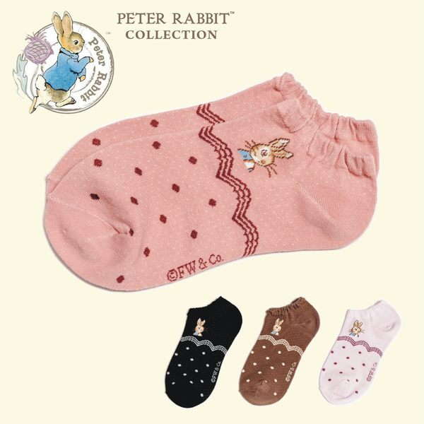比得兔/彼得兔 細針提花船襪/襪子-SK7861(共6色)【YS SHOP】
