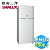 三洋 SANYO 250公升 雙門 定頻冰箱 SR-A250B