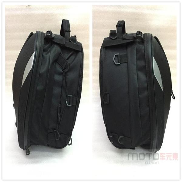 新款摩托車賽車後座包機車後尾包多功能雙肩包手拎包頭盔包箱包