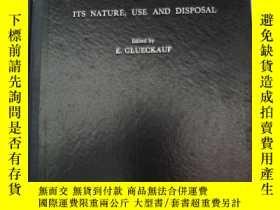 二手書博民逛書店atomic罕見energy waste its nature,