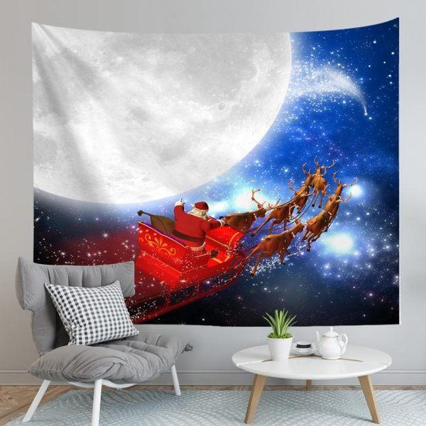 聖誕禮品91  聖誕樹裝飾品 禮品派對 裝飾 聖誕掛布 (230*150cm)