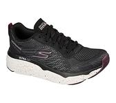 SKECHERS MAX CUSHIONING ELITE 女款 黑紫色 透氣 運動 慢跑鞋 128269BKW【KAORACER】
