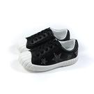 CONNIFE 休閒鞋 黑色 星星 貼鑽 童鞋 2665-02 no536