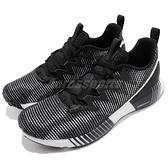 Reebok 慢跑鞋 Fusion Flexweave 黑 灰 全新科技針織鞋面 運動鞋 男鞋【ACS】 CN2424