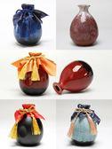 陶瓷空酒瓶子裝飾花瓶器擺件酒壇子白酒小酒壺一斤裝 樂趣3C