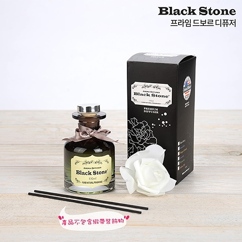 韓國 BLACK STONE 室內擴香瓶 130ml (附裝飾花+擴香棒)【BG Shop】多款可選